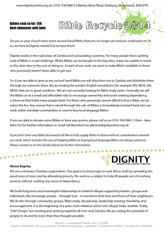 2014 05 Dignty Bible Recycle