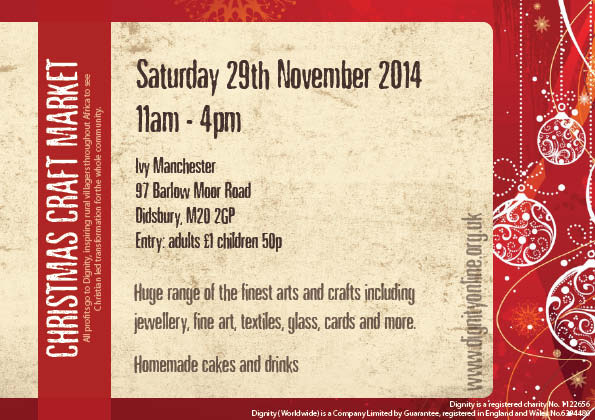 2014 Craft Fair Flyer
